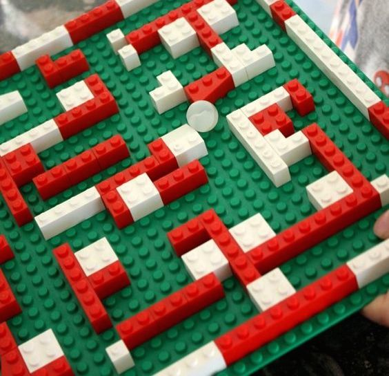 Maker At Home: LEGO Marble Maze