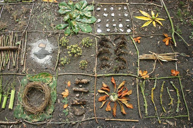 Maker At Home: Nature Installation Art