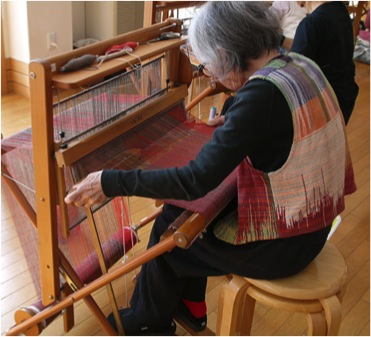 Meet the Maker:Saori Weaving